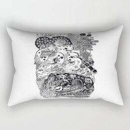 Downtown Rectangular Pillow