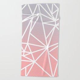 Gradient Mosaic 1 Beach Towel