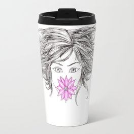Chrysanthemum Travel Mug