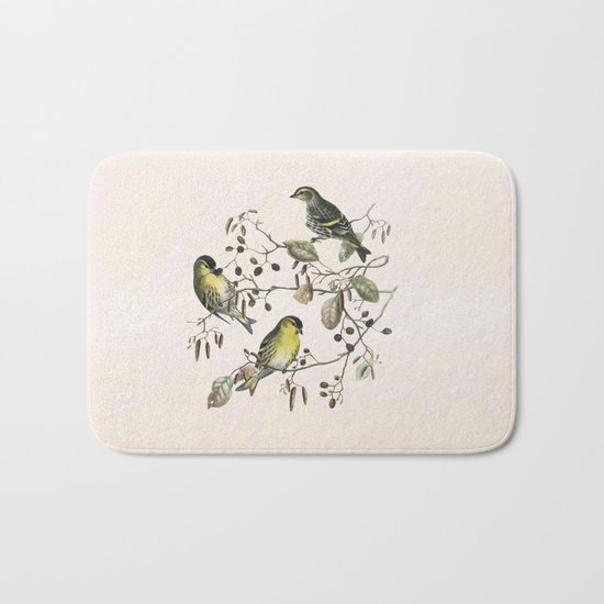 Springtime is lovetime Bath Mat