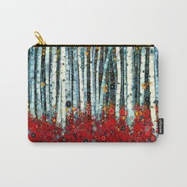 :: Begonia Birch :: Carry-All Pouch