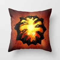warcraft Throw Pillows featuring Immortality! by Hinasei