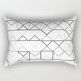 COLORING PIRAMIDS Rectangular Pillow