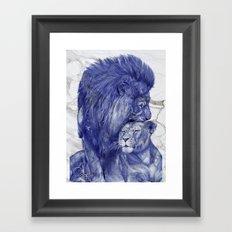 The good life Framed Art Print