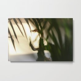 [8] Dancing people, dance, shadows, hands and plants, blurred photography, dancer, forest, yoga Metal Print