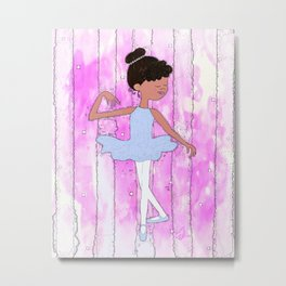 First Ballet Recital Metal Print