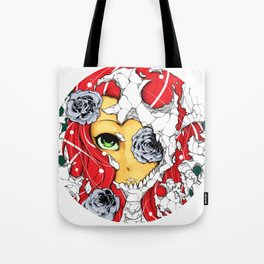 The deadly beauty of roses  Tote Bag