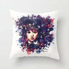 Rachel Crow I Throw Pillow