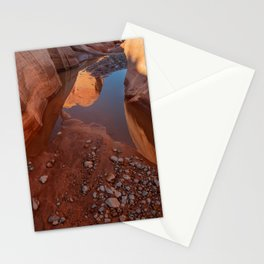 After the Rain - II, Valley_of_Fire Canyon, NV Stationery Cards