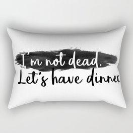 Dinner Invitation Rectangular Pillow