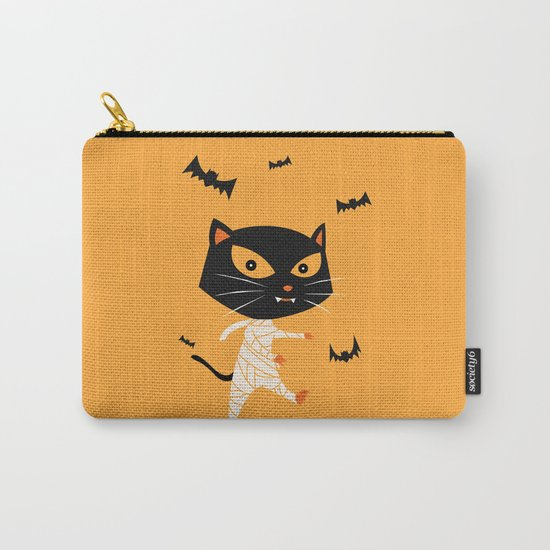 Mummy Cat Carry-All Pouch