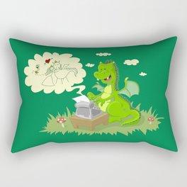 Dragon's Tale Rectangular Pillow