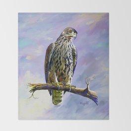Ayres's Hawk Eagle Throw Blanket