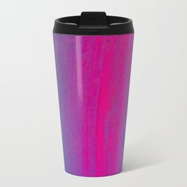 Magical Neon Streaks of Light Travel Mug
