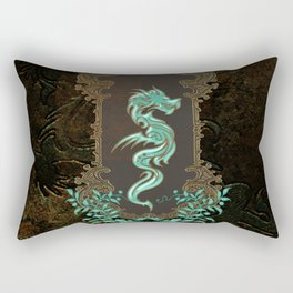 Awesome chinese dragon Rectangular Pillow