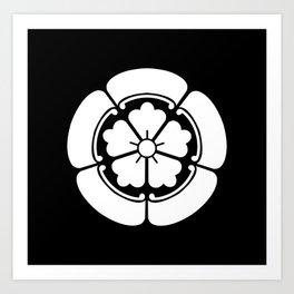 Samurai-Oda family Crest Art Print