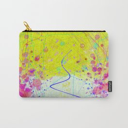 Barnsley Wisteria Day Glow Carry-All Pouch