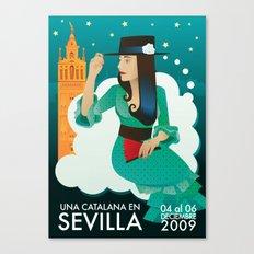 Sevilla Feria Canvas Print