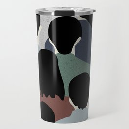 STANDING IN A CROWD Travel Mug