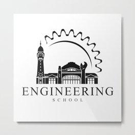 Engineering school 01 Metal Print