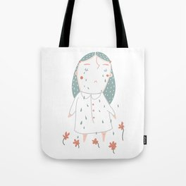 Little Miss Watering Can Tote Bag