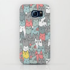 Cats family Galaxy S8 Slim Case