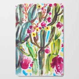 Café Cactus Cutting Board