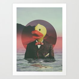 Rubber Ducky Art Print