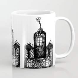 Skeleton Castle Coffee Mug