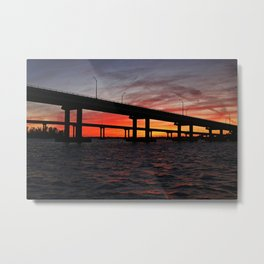 An Evening on the Caloosahatchee II Metal Print
