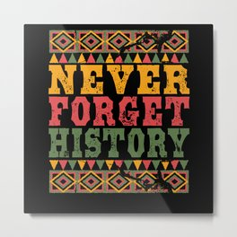 Black History Month Metal Print