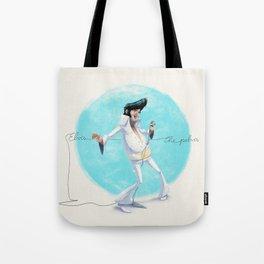 Elvis the Pelvis Tote Bag