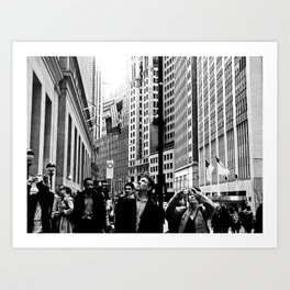 NEW YORK//TOURISTS Art Print