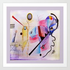 inspiration from Kandinsky Art Print