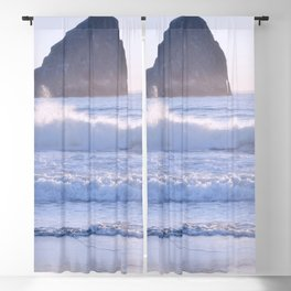 HAYSTACK ROCK - CAPE KIWANDA - PACIFIC CITY - OREGON Blackout Curtain