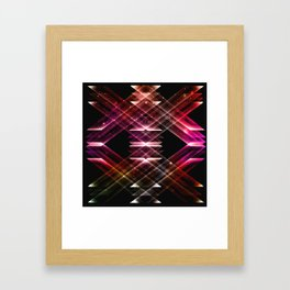 mirror angle Framed Art Print