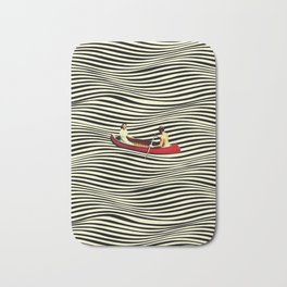 Illusionary Boat Ride Bath Mat