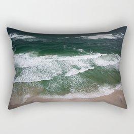 Waves on the Shore Rectangular Pillow