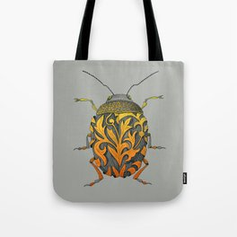 beetle_yellow Tote Bag