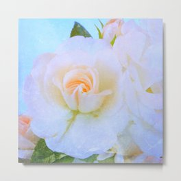 Light Roses Metal Print