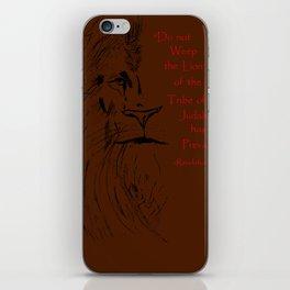 Revelation 5:5 Lion iPhone Skin