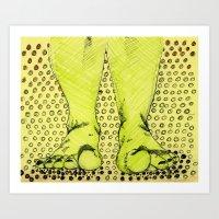 feet Art Prints featuring Feet by Rainey Emerson