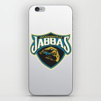 nfl iPhone & iPod Skins featuring Jacksonville Jabbas - NFL by Steven Klock