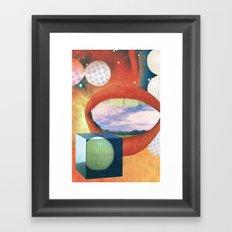 Adjacent Flavouring Framed Art Print