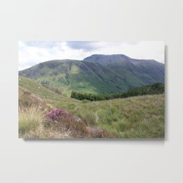 A view of Ben Nevis, Scotland Metal Print