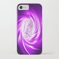 erotic iPhone & iPod Cases featuring Space and time 8  Erotic by Walter Zettl