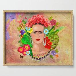 Frida Kahlo 3 Serving Tray