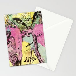 #102 Colombia, Vultures Everywhere Stationery Cards