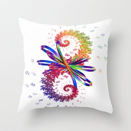 Love Potion Number Nine Throw Pillow