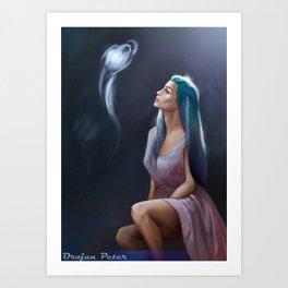 MagicBall Art Print